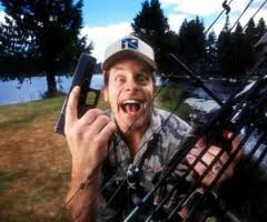 Ted Nugent w guns