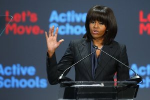 Michelle Obama Announces $70M 'Let's Move' Schools Program