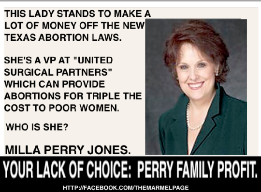 Milla Perry Jones, Rick Perry's Sister