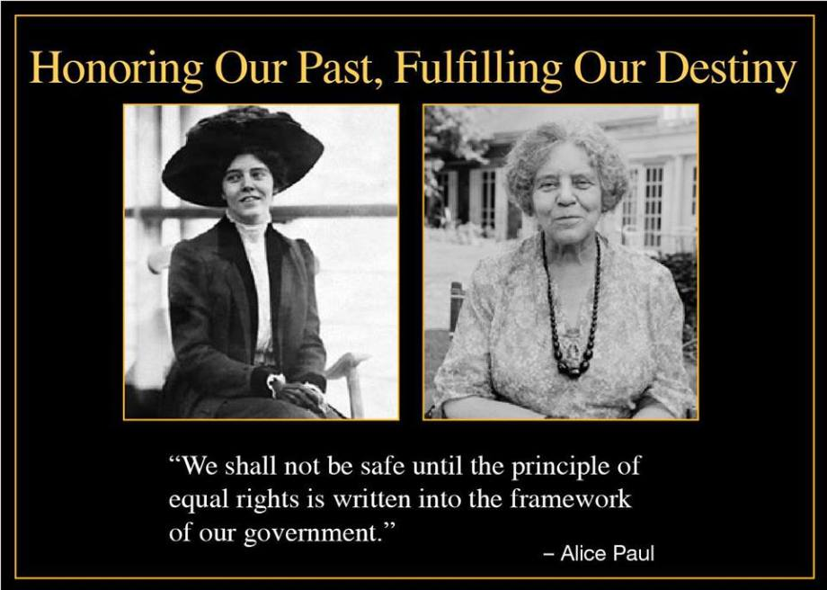 Author of ERA - Alice Paul