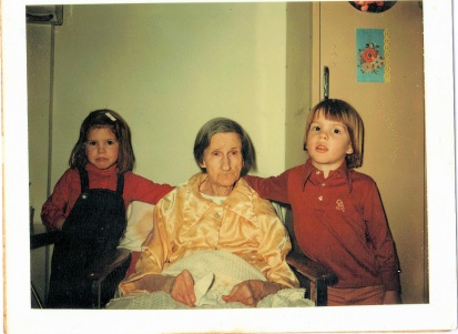 My Grandmother with Amanda and Ned