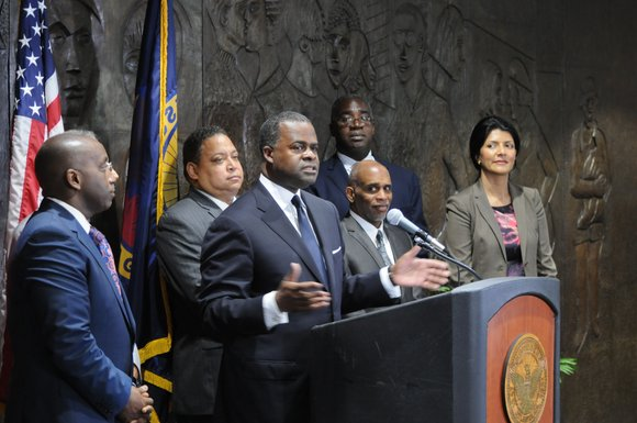 Mayor Reed announces the sale of Friendship Baptist Church