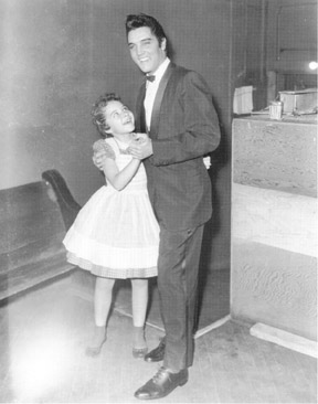 Brenda Lee dancing with Elvis