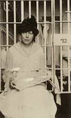 Lucy Burns was beaten, then chained to her cell bars and left hanging for the night.