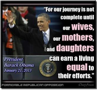 POLITICAL - OBAMA ON ERA