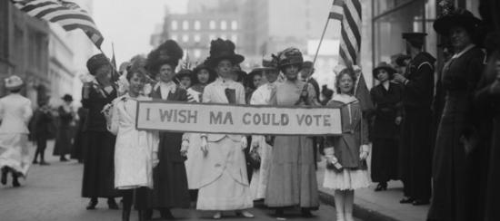 Women want vote