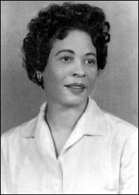 Daisy Bates was the president of the Arkansas state conference of the NAACP and was instrumental in the battle to integrate Little Rock's Central High School in 1957. National Park Service; courtesy Special Collections, University of Arkansas