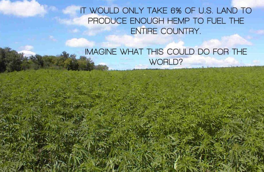 marijuana - hemp fuel for the world