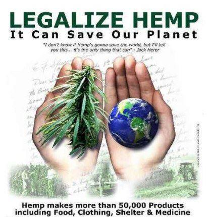 marijuana - legalize hemp