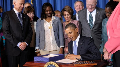 President Obama signs VAWA Reauthorization 2013