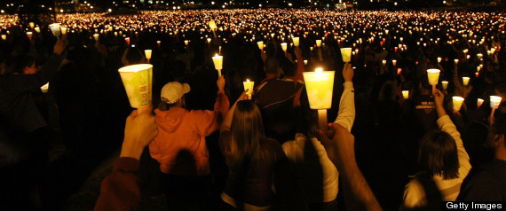 Virginia Tech Commemorates One-Year Anniversary Of Shooting Tragedy